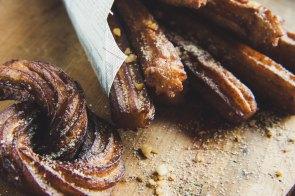Cinnamon Sugar Churros (courtesy of Huib Schoiten from Unsplash)