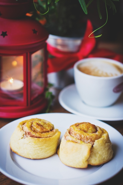 Cinnamon buns to warm and wake your senses