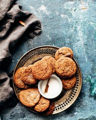 Cinnamon cookies (picture courtesy of Jennifer Pallian from Unsplash)