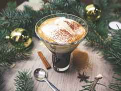 Hot Mexican coffee for the holidays
